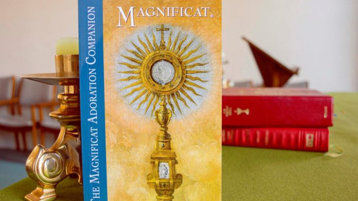 New Adoration Companion launched by Magnificat