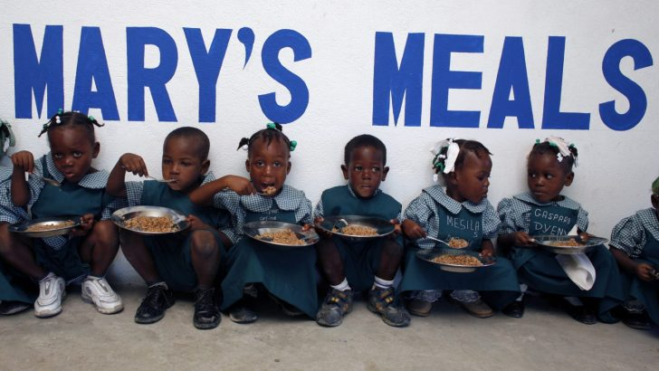 Mary's Meals to feed over one million African children