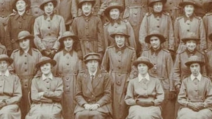 Irish women who served in a time of European crisis