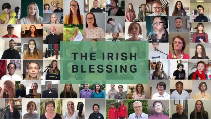 Irish blessing for frontline workers unites religious communities