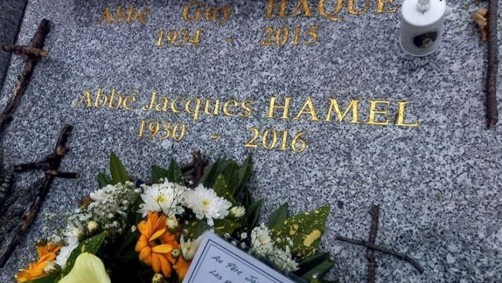 Mass, procession to mark the anniversary of Fr Hamel's murder
