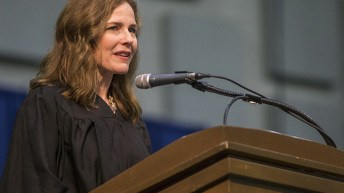 'A person of the utmost integrity': Church on Amy Coney Barrett