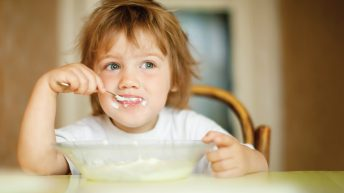 Healthy eating for one to four-year olds