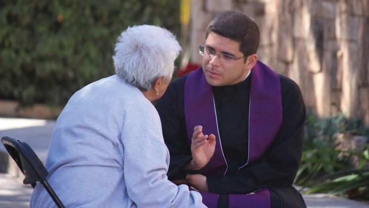 Treasuring Confession as vital to peace