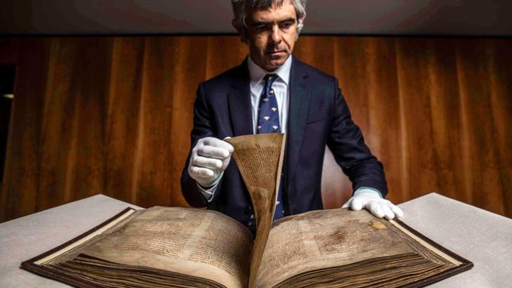 A record of Irish civilisation: the Book of Lismore returns to Ireland