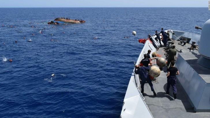 UN calls for governments to act after shipwreck kills 74 migrants