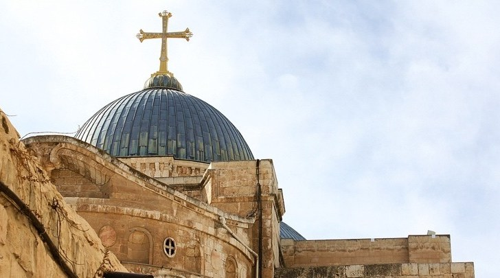 Easter celebrations return to the Church of the Holy Sepulchre