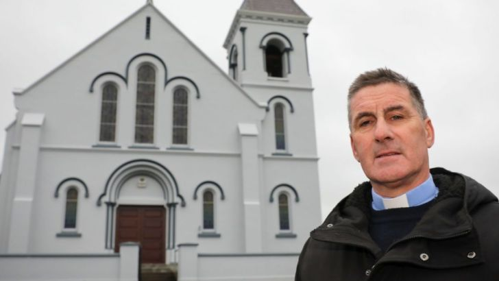 Gardaí fine Fr PJ Hughes for celebrating public Mass