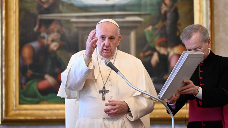 Intercession of saints has stopped Christians reaching 'breaking point' says Pope