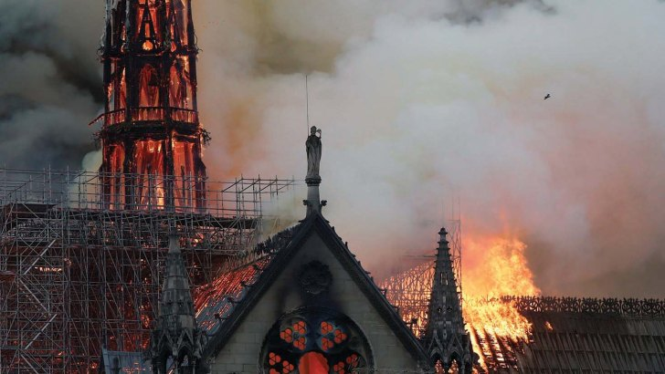 Decline in religious architecture is a warning light