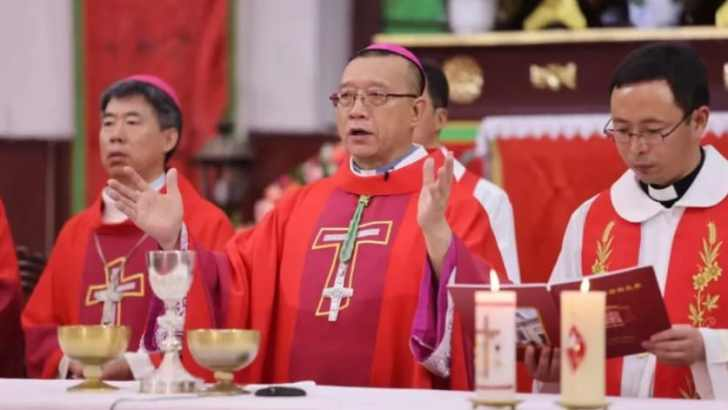 New bishop consecrated under terms of Vatican-China deal
