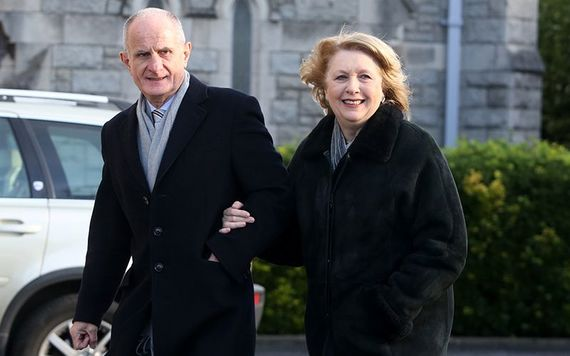 Martin and Mary McAleese. Image: RollingNews.ie.