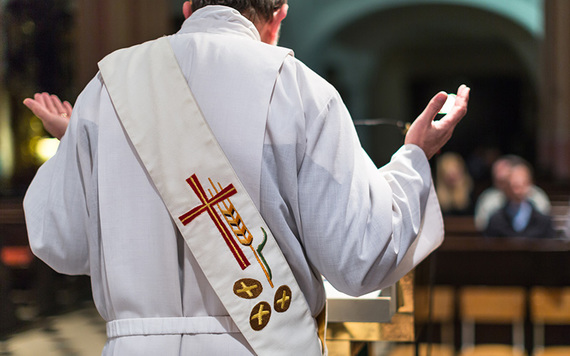 90% of Irish nationals are Catholic, but only 30% ever attend church.