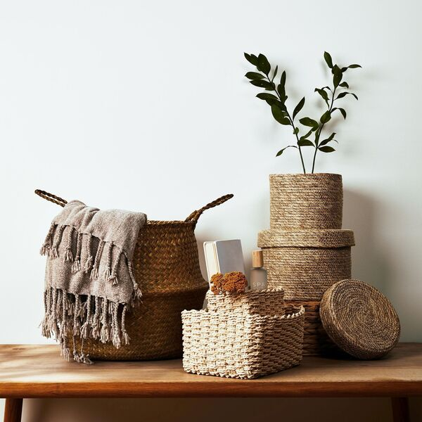 Accessories turn a house into a home and inject the owner's personality into the surroundings (baskets from €6 at Penneys).