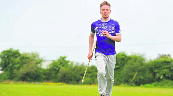 Hurler Eoin O'Sullivan at Sarsfields Hurling Club training pitches near Glanmire, Co Cork. Picture: Larry Cummins