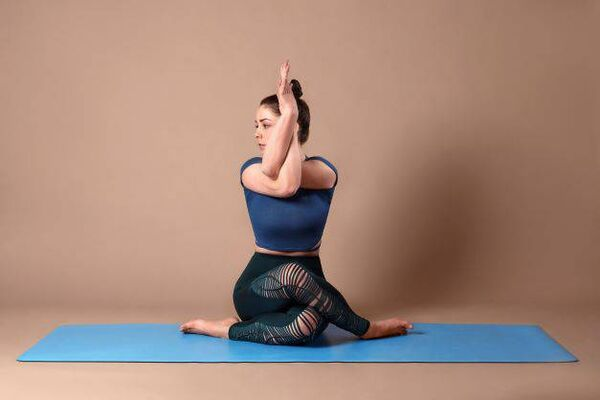 HOLDEReight's yoga mats are sustainable and slip-proof.