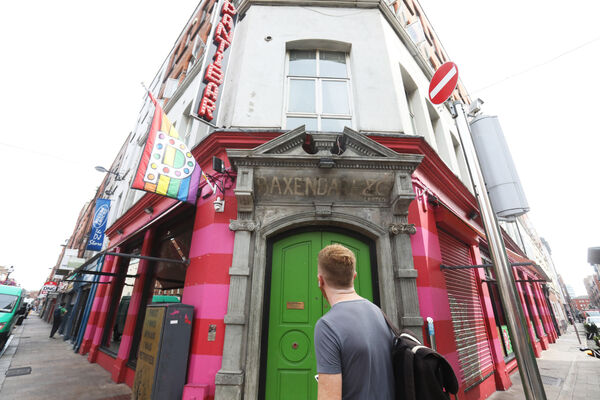 Rory O'Neill, owner of Pantibar in Dublin: 'I don't want people to come into the bar who have not been vaccinated.' Picture: Leah Farrell / RollingNews.ie