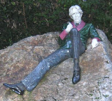 Oscar Wilde statut à merrion square