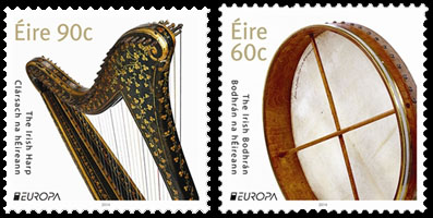 Timbres Harpe et Bodhran