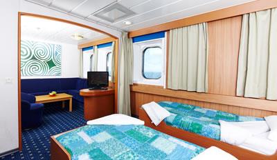 Ulysses Luxury Cruise Ferry  Dublin to Holyhead  Irish