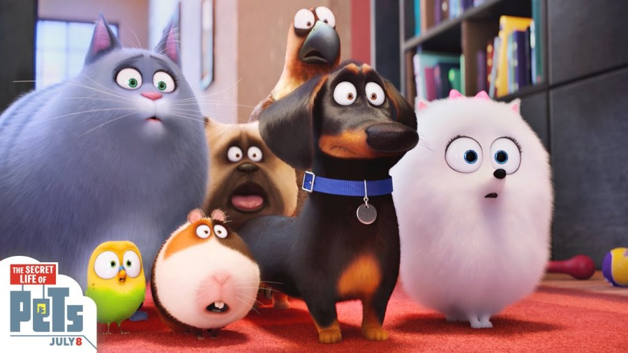 The Secret Life Of Pets Promo Banner