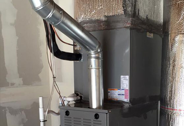 Gas Furnace Vent Pipe