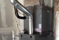 Gas Furnace Flue Pipe Installation Pictures to Pin on