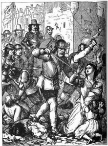 The massacre at Drogheda as imagined by Henry Edward Doyle