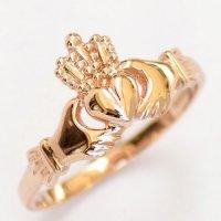 Rose Gold Claddagh Ring | Irish Jewel | Handmade Irish Jewelry
