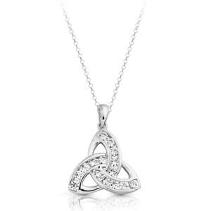 Silver Celtic Pendant-SP012