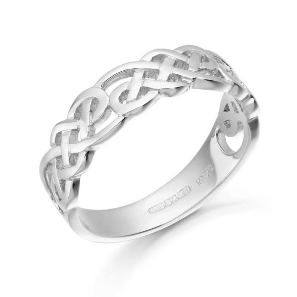 Silver Celtic Ring - S3242