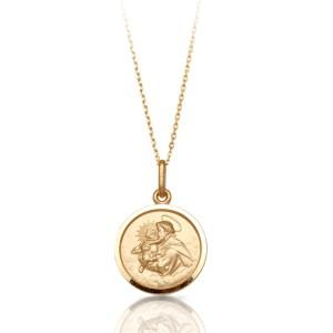 Saint Anthony Medal Penant-J12IJ