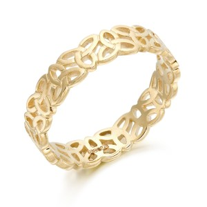 9ct Gold Celtic Wedding Ring-1520