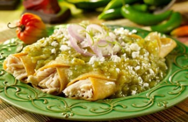 Kid-Friendly Chicken Enchiladas