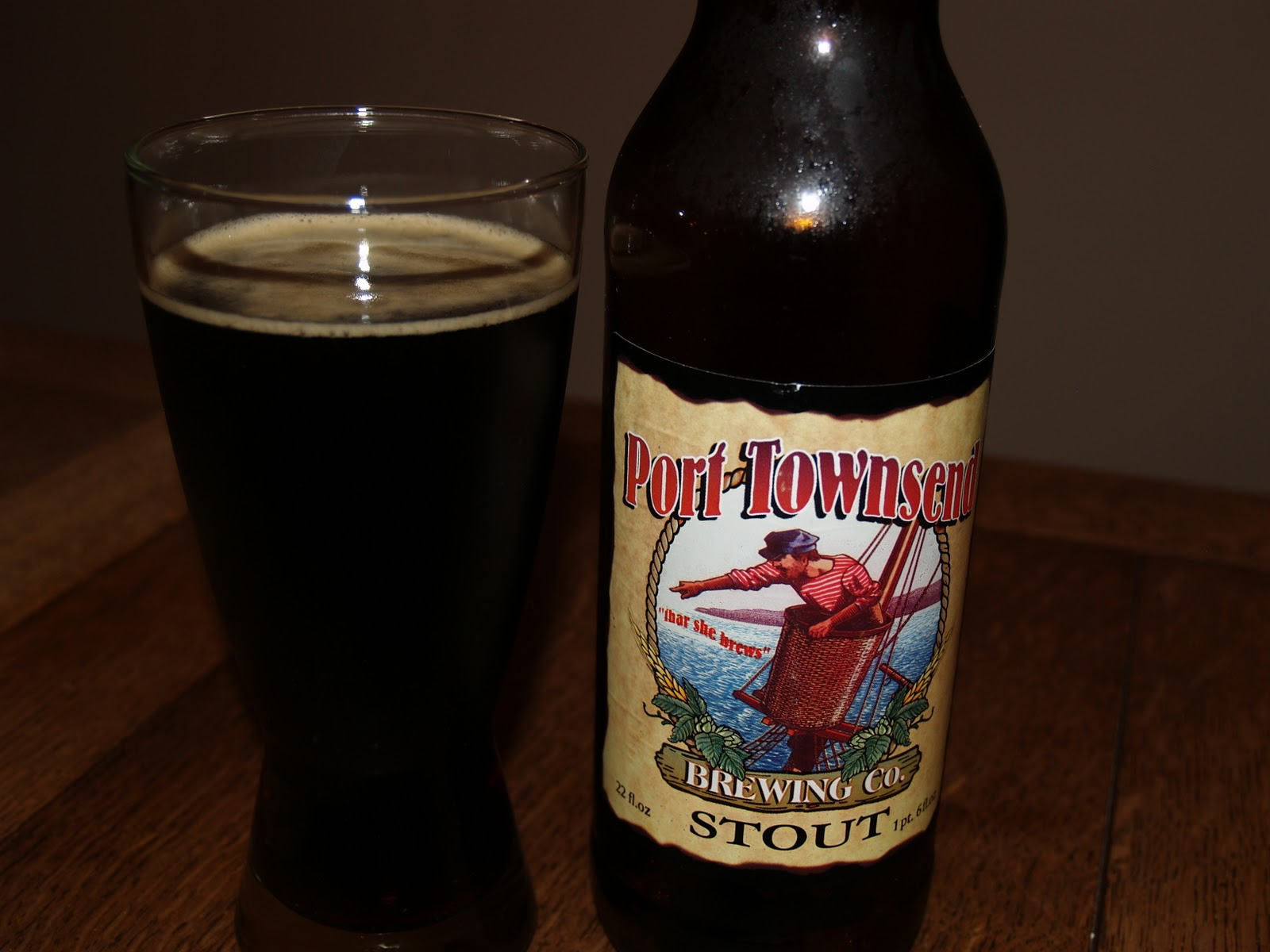 Friday Happy Hour: Strait Stout from Port Townsend Brewing Company