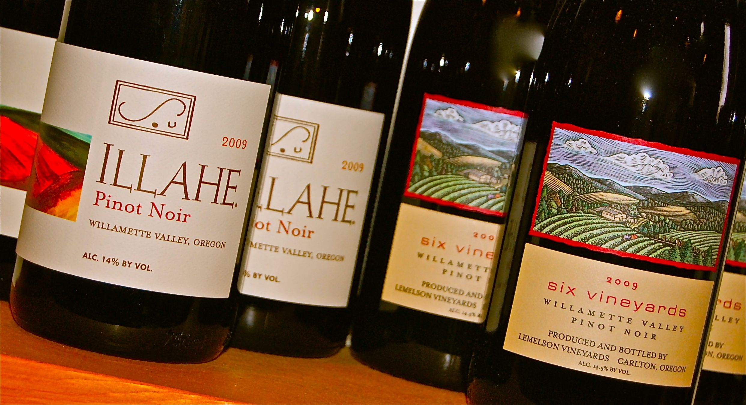 Friday Happy Hour: Pinot Noir from 6 Vineyards, Oregon