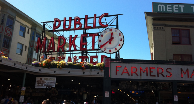 SEATTLE – Five Quick Stops at Pike Place Market
