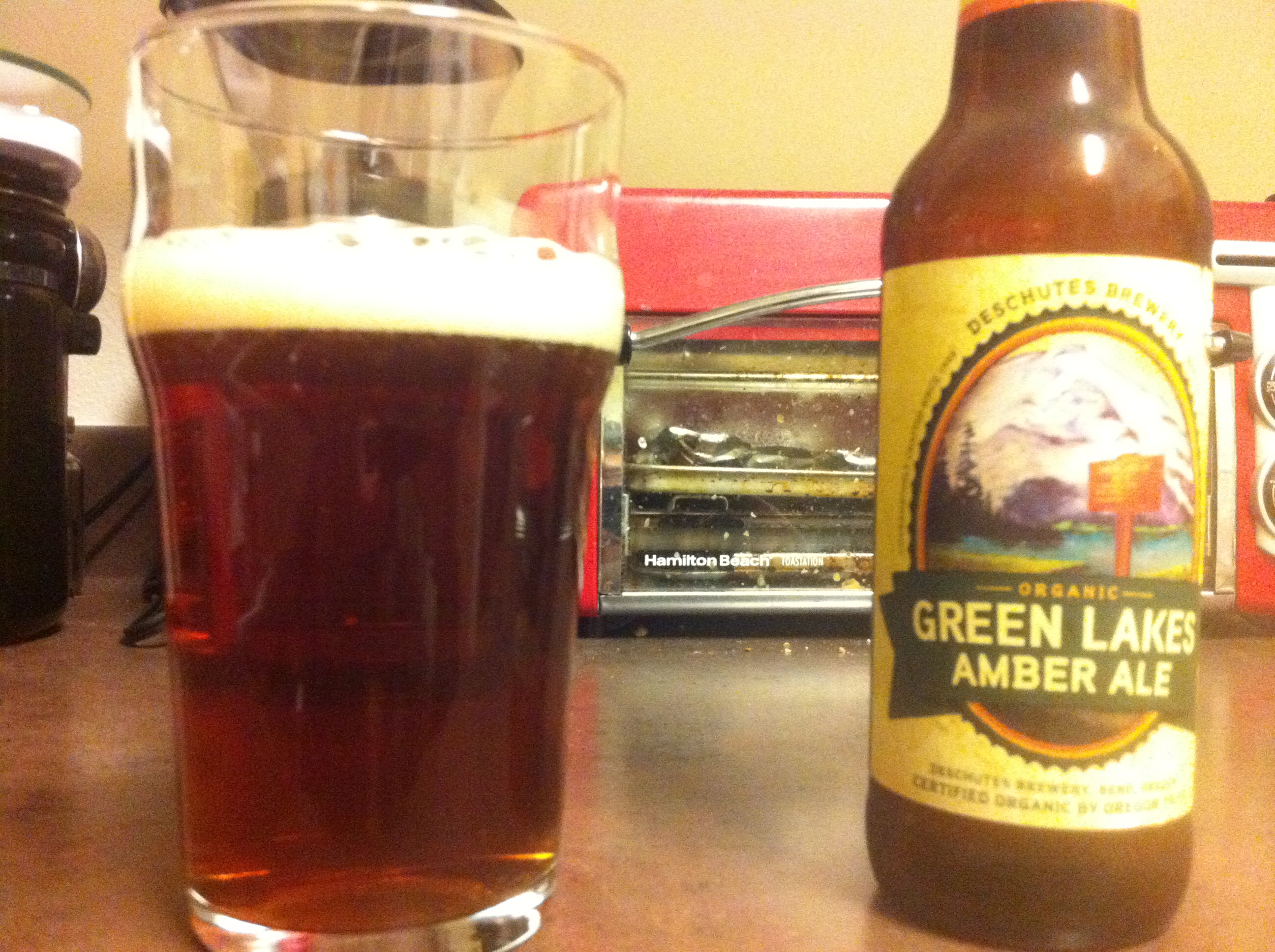 Deschutes Brewery: Green Lakes Amber Ale (Organic)