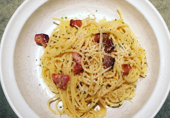 Linguine Carbonara – Updated
