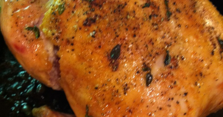How to Roast a Chicken Paralysis-Free