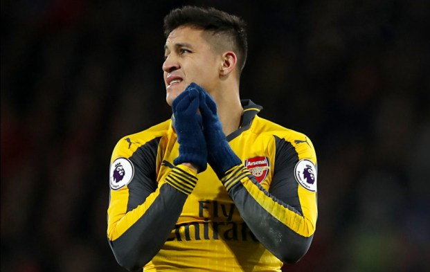 Image result for alexis sanchez furious