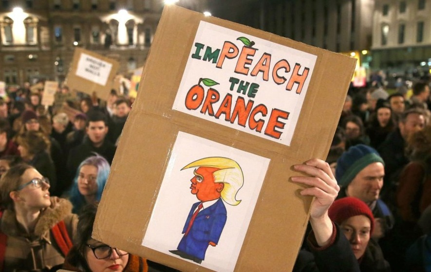 Image result for photos of protests in uk trump