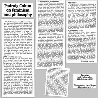 Padraig Colum 1910 Feb 24