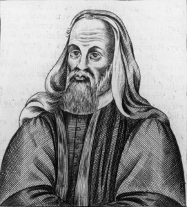 A 17th century Calvinist print depicting Pelagius Wikimedia, Public Domain
