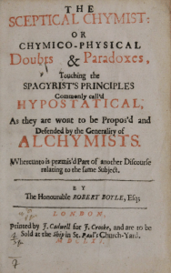 The Skeptical Chemist Courtesy the Edward Worth Library