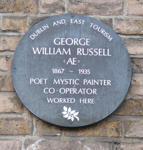 Plaque to George Russell