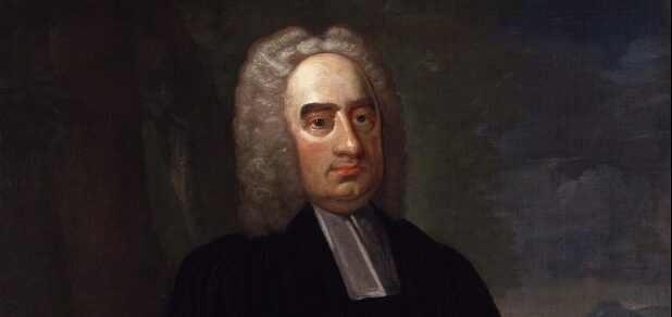 Jonathan Swift, by Francis Bindon, oil on canvas, circa 1735.