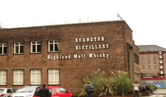 Deanston Distillery - Whisky with Irish Rugby Tours
