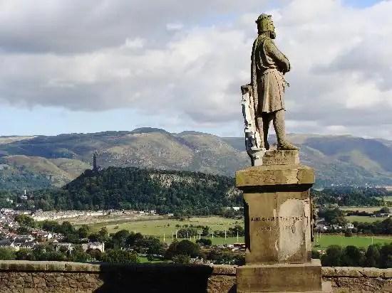 Robert the Bruce - Irish Rugby Tours In Scotland