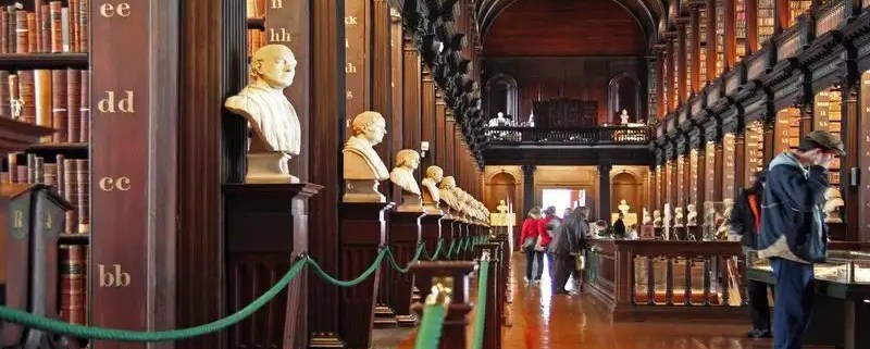Trinity College Library - Irish Rugby Tours A feast Of Touring